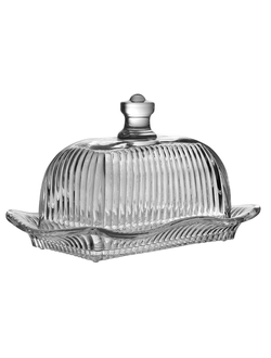 Масленка BUTTER DISH SURGERES 19X13X12CM GLASSарт.31436