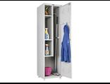 Шкаф металлический для уборочного инвентаря LS(LE)11-50