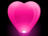 """Небесный фонарик """"Бриллиант"""" Ярко-розовый"""