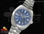 Overseas Automatic SS Blue Dial