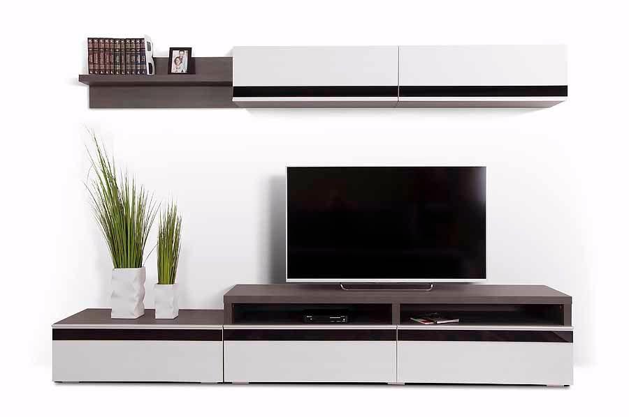 модульная мебель для гостиной из тамбурата в стиле минимализм в