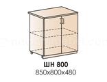 ШН800 (каркас н800, фасад ф-50) Шкаф нижний двухдверный