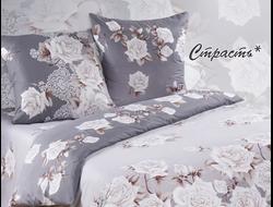 СТРАСТЬ.  Комплект постельного белья из набивной бязи традиции текстиля, цельнокройное, хлопок 100%