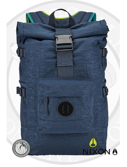 Рюкзак в дизайне роллтоп Nixon Swamis Backpack