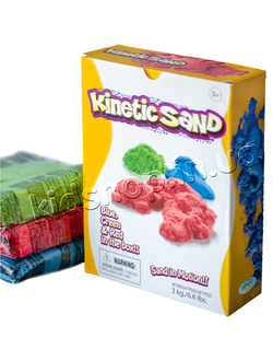 kinetic sand waba fun green red blue