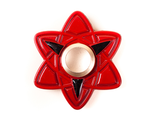Спинер Naruto Sharingan Spinner Red