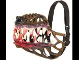 намордник, оборотень, прикольный, клыки, зубы, на собаку, для собак, кровь, пасть, дизайнерский, dog