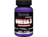 (Ultimate Nutrition) - Omega 3 - (90 капс)