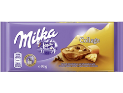 Milka Collage Fudge Chocolate 93гр(Европа)