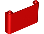 Windscreen 1 x 6 x 3, Red (64453 / 4585642 / 6138636)