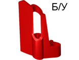 ! Б/У - Technic, Panel Fairing #25 Small Short, Small Hole, Side A, Red (47713 / 4218894) - Б/У