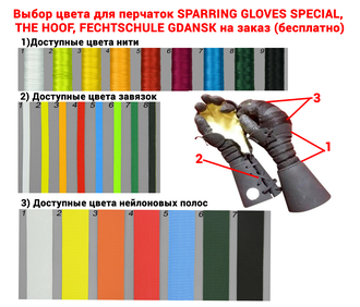 Перчатки Sparring Gloves Special (5fingered)
