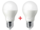 Світлодіодна лампа Led 2 штуки EX E27 10W 4000K 950lm