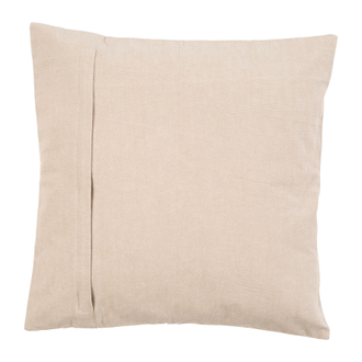 Подушка 200550 CUSHION EMBROIDERY SOLENE BEIGE 45X45 COTTON+POLY