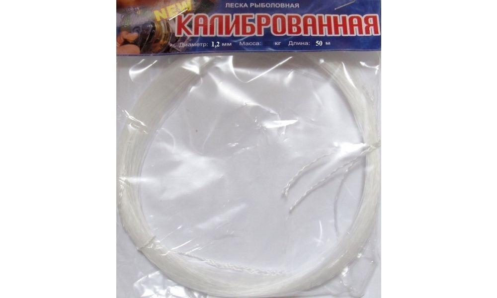Леска Клинская в мотках 1,2мм50м