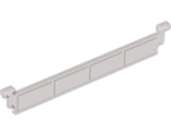 Garage Roller Door Section without Handle, Trans-Black (4218 / 4550452 / 6271643)