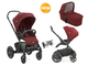 Joie Chrome DLX Carry Cot 2 в 1 - Прогулочная коляска