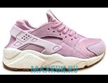 Кроссовки Nike Huarache нежно-розовые