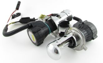 Лампа биксенон (2шт) Clearlight H4 4300K + провод LCL 0H4 B43-0LL (Германия)
