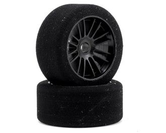 "Xceed RC ""Enneti"" World GT Carbon Carpet Front Tires (2) (Black) (Not Hex) (35 Shore) XCD101567"