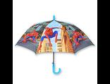 Детский зонт автомат для мальчика Человек Паук