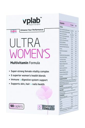(VP Laboratory) Ultra Women's Multivitamin Formula - (90 таб)