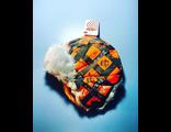 Теплая зимняя шапка-ушанка Reike цвет Orange Grey