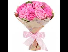 5-7-9 розовых роз букет