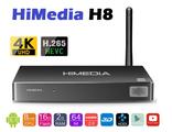 HiMedia H8. Мощная многофункциональная Андроид ТВ приставка. 2 Гб / 16 Гб. RK3368. Всё в одном.