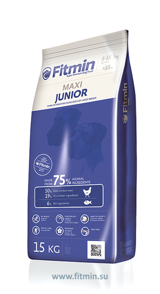 Fitmin Dog Maxi Junior 3  кг