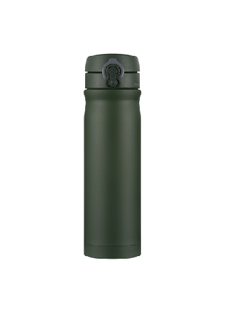 Термостакан Quick Open зелёный (green wood camp) 500ml