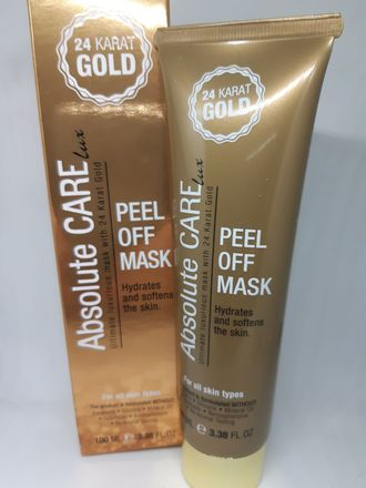 24 Karat gold Absolute Care peel off mask 100ml