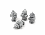Fireplugs  (unpainted)
