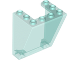 Windscreen 3 x 4 x 4 Inverted, Rounded Top Corners, Cutout Bottom Corners, Trans-Light Blue (72475 / 6009015)
