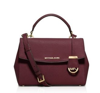 Сумка Michael Kors Ava Bordo / Бордовая