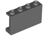 Panel 1 x 4 x 2 with Side Supports - Hollow Studs, Dark Bluish Gray (14718 / 6211916)