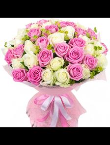 Букет 39 роз Премиум