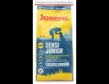 Корм для щенков и молодых собак с чувствительным пищеварением Josera SensiJunior, 15 кг, Протеин – 30%, Жир – 17%, производство Германия