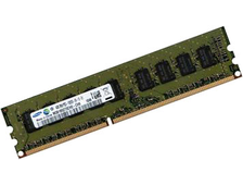 Модуль памяти DDR3L 4Gb   M391B5273DH0-YK0 Unbuffered Samsung PC3L-12800E 1600 UDIMM   2RX8  1,35V Dual Rank