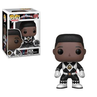 Фигурка Funko POP! Vinyl: Power Rangers: Black Ranger (No Helmet)