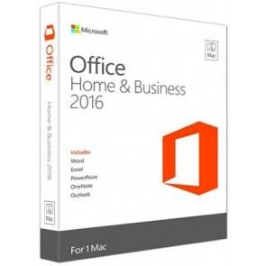 Microsoft Office 2016 Mac Home Business 1PK 2016 English CEE Only Medialess W6F-00475