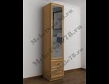 Шкаф зеркальный с двумя ящиками ШКР(I)№6