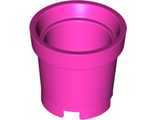 Container, Bucket without Handle Holes, Dark Pink (18742 / 6088555)