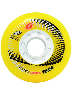 Hyper Concrete+G LTD reflex yellow/white 80мм/84A