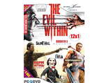 "The Evil Within + DLC ""The Fighting Chance Pack"" + Update:Сборник игр 12 в 1 (2DVD)"