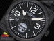 BR 03-92 PVD GIGN Special Edition Black Dial on Black Rubber Strap