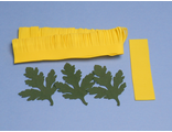 Хризантема из фоамирана, набор лепестков