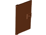 Door 1 x 4 x 6 with Stud Handle, Reddish Brown (60616 / 6126109 / 6248918)