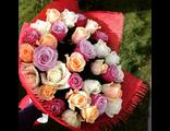 """Букет № MR1 """"Цветные розы"""""""
