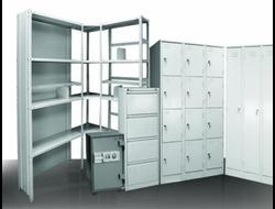 металлическая мебель, сейфы, картотеки